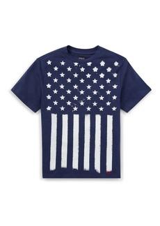 Ralph Lauren Little Boy's Stars & Stripes Cotton T-Shirt