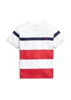Ralph Lauren Little Boy's Stripe T-Shirt