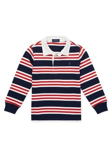 Ralph Lauren Little Boy's Striped Cotton Jersey Rugby Shirt