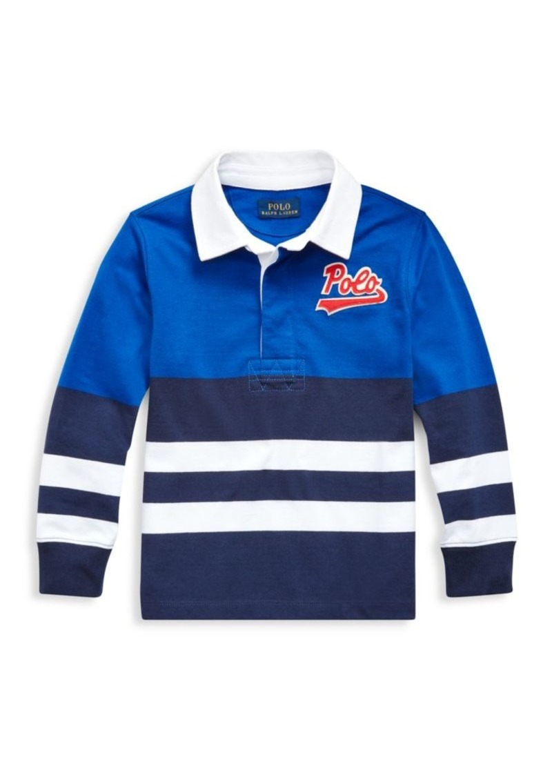 Ralph Lauren Little Boy's Striped Cotton Rugby Shirt