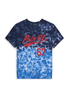 Ralph Lauren Little Boy's Tie Dye Logo Graphic T-Shirt