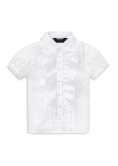 Ralph Lauren Little Girl's & Girl's Baptism Shirt