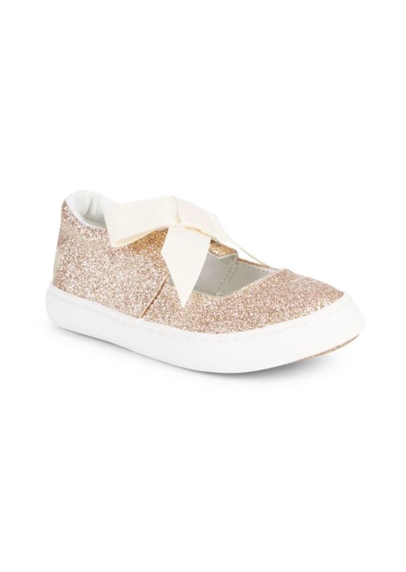 Ralph Lauren Little Girl's & Girl's Braylon Glitter Sneakers