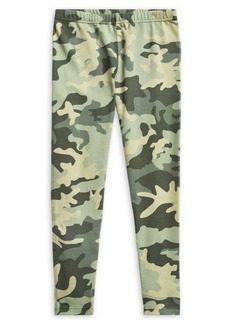 Ralph Lauren Little Girl's Camo Stretch Leggings