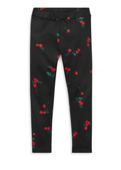 Ralph Lauren Little Girl's & Girl's Cherry Jersey Leggings
