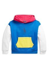Ralph Lauren Little Girl's & Girl's Colorblock Hoodie