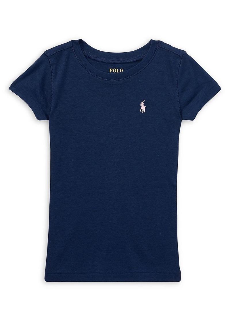 Ralph Lauren Little Girl's & Girl's Cotton-Blend Crewneck T-Shirt
