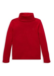 Ralph Lauren Little Girl's & Girl's Cotton Modal Turtleneck