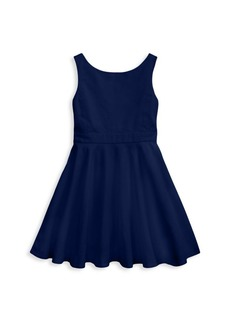 Ralph Lauren Little Girl's & Girl's Crossback Dress