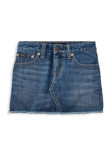 Ralph Lauren Little Girl's & Girl's Denim Skirt