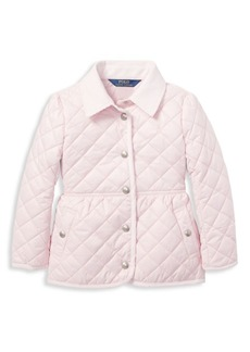Ralph Lauren Little Girl's & Girl's Quilted Jacket