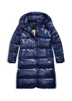 Ralph Lauren Little Girl's & Girl's Down Longline Coat