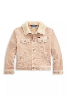 Ralph Lauren Little Girl's & Girl's Faux Shearling Jacket