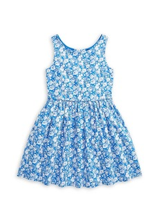 Ralph Lauren Little Girl's & Girl's Floral Poplin Dress