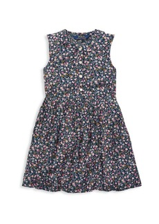 Ralph Lauren Little Girl's & Girl's Floral Shift Dress