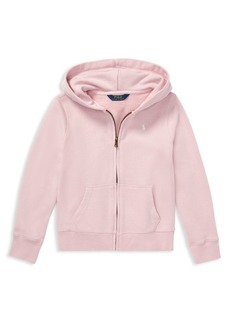 Ralph Lauren Little Girl's & Girl's French Terry Hoodie