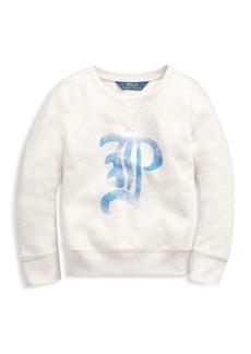 Ralph Lauren Little Girl's & Girl's Logo Graphic Sweatshirt