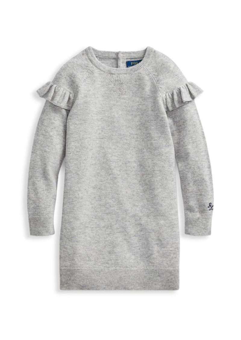 Ralph Lauren Little Girl's & Girl's Modern Sweatshirt Dress