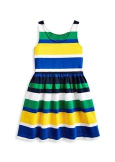 Ralph Lauren Little Girl's & Girl's Multicolor Striped Dress