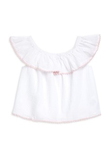 Ralph Lauren Little Girl's & Girl's Off-The-Shoulder Top