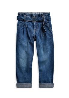 Ralph Lauren Little Girl's & Girl's Paperbag Jeans