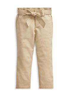 Ralph Lauren Little Girl's & Girl's Paperbag Pants