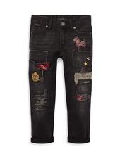 Ralph Lauren Little Girl's Patch Jeans