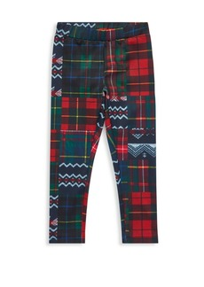 Ralph Lauren Little Girl's & Girl's Patchwork Leggings