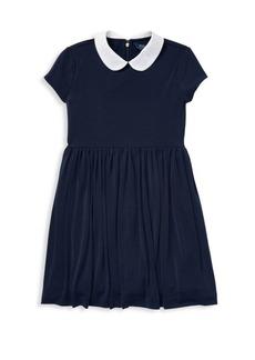 Ralph Lauren Little Girl's & Girl's Collar Fit & Flare Dress