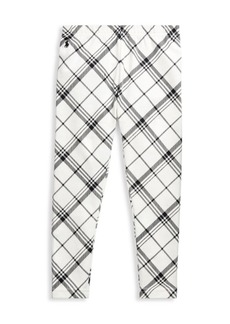 Ralph Lauren Little Girl's & Girl's Plaid Leggings