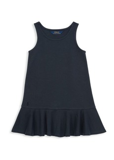 Ralph Lauren Little Girl's & Girl's Ponte Dress