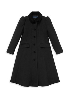 Ralph Lauren Little Girl's & Girl's Princess Coat