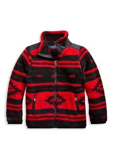 Ralph Lauren Little Girl's & Girl's Printed Fleece Jacket
