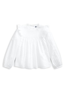 Ralph Lauren Little Girl's & Girl's Smocked Tunic