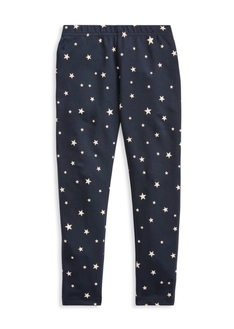 Ralph Lauren Little Girl's & Girl's Star Print Leggings