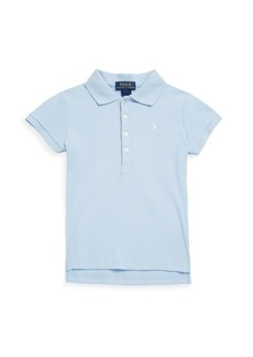 Ralph Lauren Little Girl's & Girl's Stretch Cotton Polo Shirt