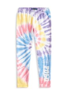 Ralph Lauren Little Girl's & Girl's Stretch Tie-Dye Leggings