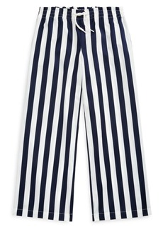 Ralph Lauren Little Girl's & Girl's Striped Cotton Dobby Pants