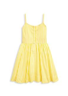 Ralph Lauren Little Girl's & Girl's Striped Fit-&-Flare Dress