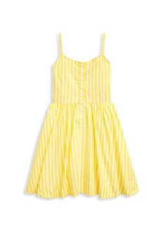 Ralph Lauren Little Girl's & Girl's Striped Fit-&-Flare Dress