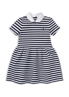 Ralph Lauren Little Girl's & Girl's Striped Knit Dress