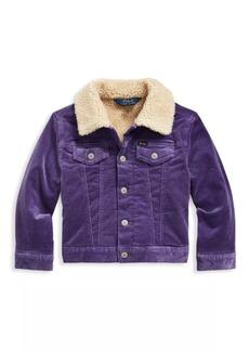 Ralph Lauren Little Girl's & Girl's Trucker Jacket