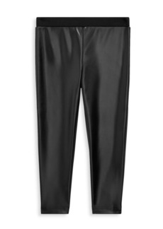 Ralph Lauren Baby Girl's, Little Girl's & Girl's Faux Leather Leggings