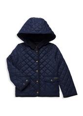 Ralph Lauren Little Girl's & Girl's Water-Repellent Barn Jacket