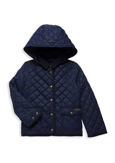 Ralph Lauren Little Girl's & Girl's Water-Repellent Barn Jacket