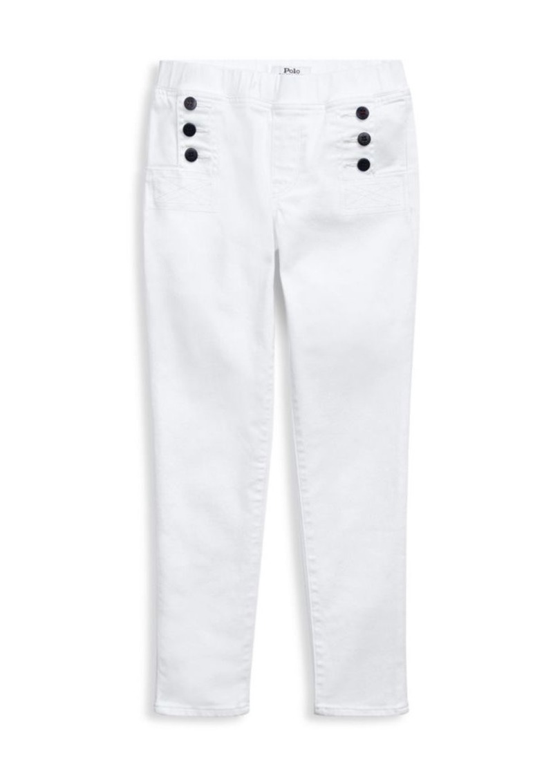 Ralph Lauren Little Girl's & Girl's Yasmin Nautical Pants