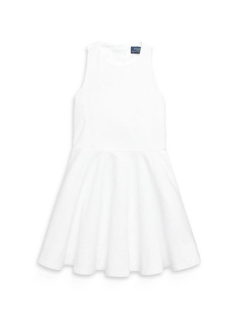 Ralph Lauren Little Girl's and Girl's Dobby Dress