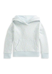 Ralph Lauren Little Girl's and Girl's Micro Floral-Print Hoodie