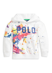 Ralph Lauren Little Girl's and Girl's Paint-Splatter Hoodie