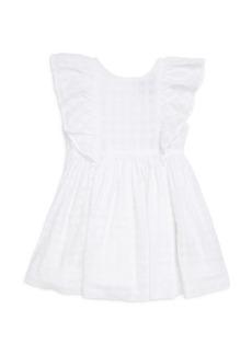 Ralph Lauren Little Girl's Cotton Flutter Dress